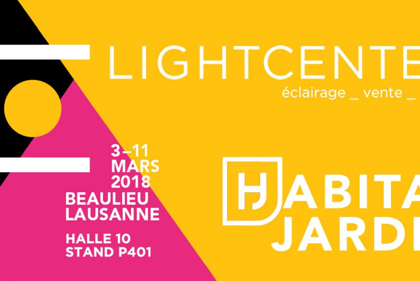 Light Center vi aspetta a Habitat Jardin