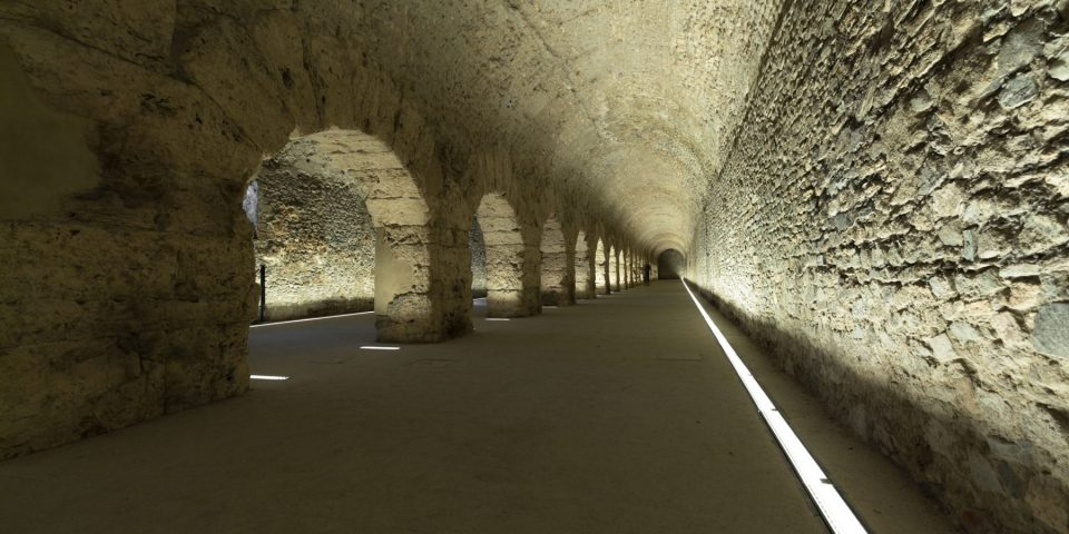 Visit the beautiful cryptoporticus of Aosta!